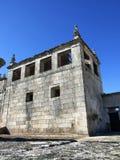 Ruïnes van oud klooster Royalty-vrije Stock Foto's