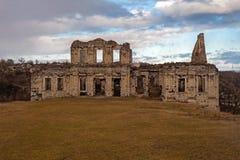 Ruïnes van oud paleis Stock Foto