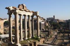 Ruïnes van Oud Rome Royalty-vrije Stock Afbeelding