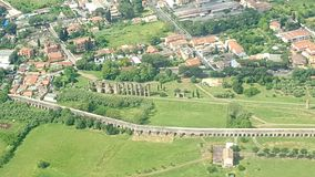 Ruïnes van oud Rome royalty-vrije stock foto