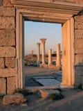 Ruïnes van oude basiliek Royalty-vrije Stock Afbeelding