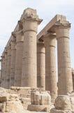 Ruïnes van oude Egyptische tempel Royalty-vrije Stock Foto