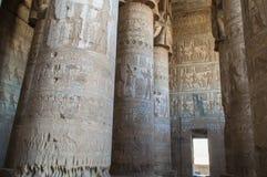 Ruïnes van oude Egyptische tempel Stock Foto