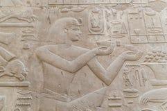 Ruïnes van oude Egyptische tempel Royalty-vrije Stock Foto's