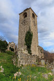 Ruïnes van oude gebouwen Stock Afbeeldingen