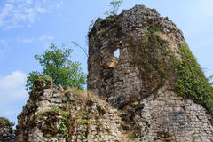 Ruïnes van oude Griekse kasteeltoren in Nieuw Athos Abkhazia royalty-vrije stock afbeelding