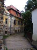 Ruïnes van oude molen Stock Fotografie