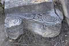 Ruïnes van Oude Stad van Bijbelse Kedesh in Israël Royalty-vrije Stock Afbeeldingen