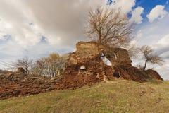 Ruïnes van oude steden Royalty-vrije Stock Foto's