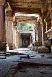 Ruïnes van oude tempel royalty-vrije stock afbeelding