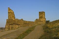 Ruïnes van oude vesting Royalty-vrije Stock Afbeelding