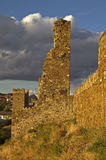 Ruïnes van oude vesting Royalty-vrije Stock Foto's