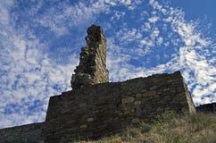 Ruïnes van oude vesting. Royalty-vrije Stock Foto