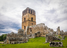 Ruïnes van Panama Viejo - de Stad van Panama, Panama Stock Foto