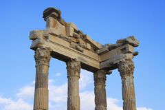 Ruïnes van Pergamum 2 royalty-vrije stock afbeelding