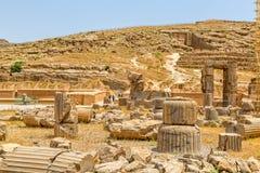 Ruïnes van Persepolis Royalty-vrije Stock Afbeelding