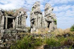 Ruïnes van Phnom Bok Royalty-vrije Stock Afbeelding