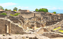Ruïnes van Pompei Stock Fotografie