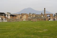 Ruïnes van Pompei, Italië Stock Foto