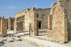 Ruïnes van Pompey Royalty-vrije Stock Foto