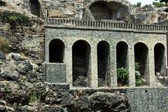 Ruïnes van Pompey Royalty-vrije Stock Afbeelding