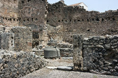 Ruïnes van Pompey Royalty-vrije Stock Afbeeldingen