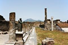Ruïnes van Pompey Stock Foto