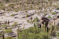 Ruïnes van Quilmes royalty-vrije stock afbeeldingen