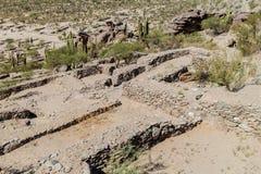 Ruïnes van Quilmes stock foto's