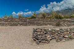 Ruïnes van Quilmes, Argentinië royalty-vrije stock foto's