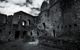 Ruïnes van Rabi Stock Foto