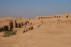 Ruïnes van resafa Stock Afbeeldingen