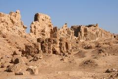 Ruïnes van resafa Royalty-vrije Stock Afbeeldingen