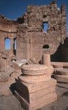 Ruïnes van Resafa Syrië Stock Foto's