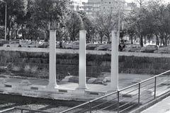 Ruïnes van roman forum Royalty-vrije Stock Afbeelding