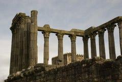 Ruïnes van Roman Tempel Stock Foto