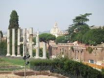 Ruïnes van Rome Stock Afbeeldingen