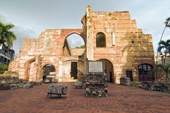 Ruïnes van San Nicholas DE Bari Stock Afbeeldingen