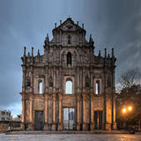 Ruïnes van St. Paul royalty-vrije stock fotografie