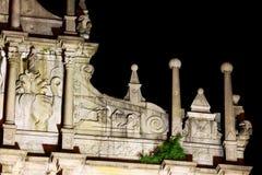 Ruïnes van St Paul At Night, Macao, China, Unesco-de Plaats van de Werelderfenis Stock Foto's