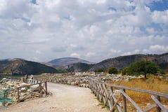 Ruïnes van tempel Stock Foto