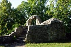 Ruïnes van toren Royalty-vrije Stock Afbeeldingen