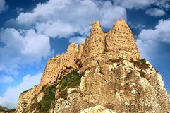 Ruïnes van Tushpa, Koninkrijk van Urartu met Van Fortress stock afbeeldingen