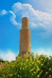 Ruïnes van Tushpa, Koninkrijk van Urartu met Van Fortress stock afbeelding