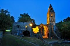 Ruïnes van Valle Christi Kerk, Rapallo, Italië Royalty-vrije Stock Afbeelding