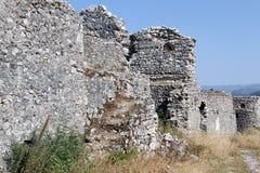 Ruïnes van vesting Royalty-vrije Stock Afbeeldingen