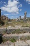 Ruïnes van Volubilis. Marokko stock foto's