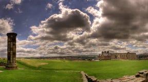 Ruïnes in Whitby Royalty-vrije Stock Foto's