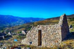 Ruïnesarchitectuur, steenhuis Stock Foto's