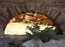 Ruïnesbasiliek St John Selcuk Turkey Royalty-vrije Stock Foto's
